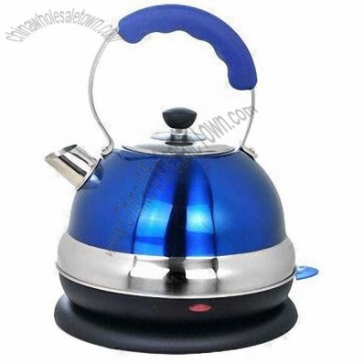 Stainless Steel Electric Kettle with 2.5L Capacity, Tea and Coffee Maker Functions