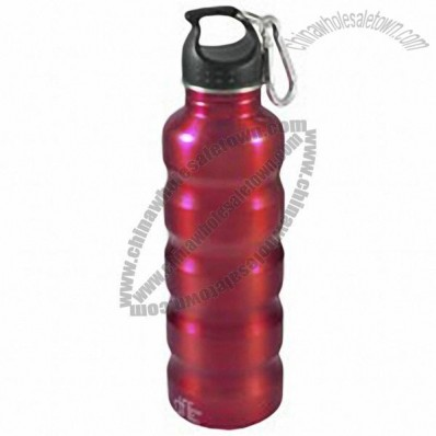 Stainless Steel Full Ridge Water Bottle