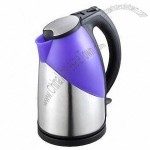 Stainless Steel Kettle With Color Changing Function, Plastic Decoration