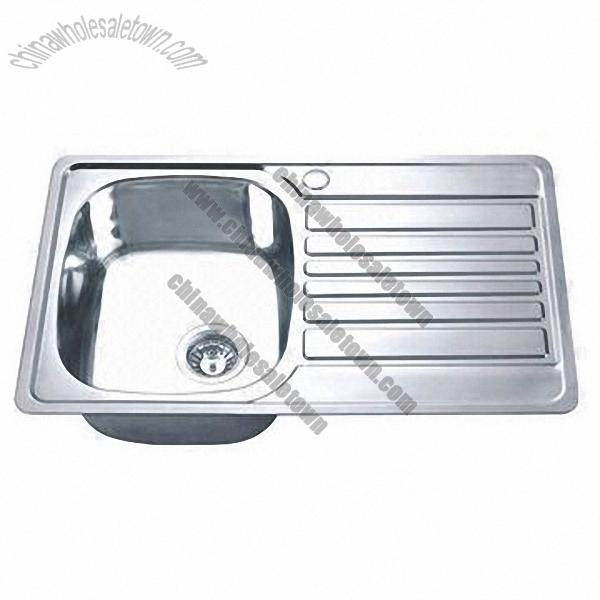 Stainless Steel Kitchen Sinks : Stainless Steel Kitchen Sink, Wholesale China Stainless Steel Kitchen ...