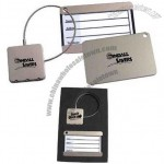 Stainless Steel Luggage Tag And Lock Gift Set