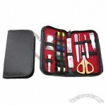 Stainless Steel Manicure Set and Sewing Kit