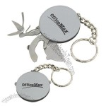 Stainless Steel Multi-tool Disk With Keychain