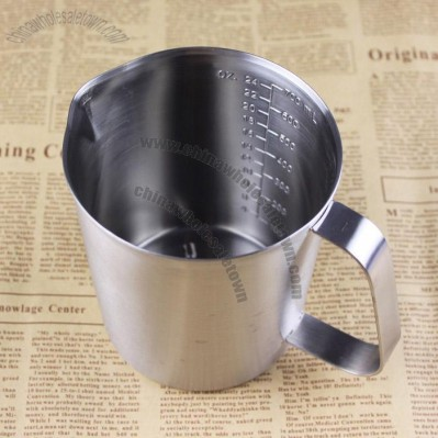 Stainless Steel Scale Measuring Cups - Milk Pitcher