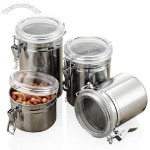 Stainless Steel Seal Canister - Food Jar