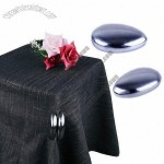 Stainless Steel/Secure Tablecloth Clips with Stylish Design