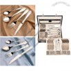 Stainless Steel Tableware - Luxury 72pcs Cutlery Set