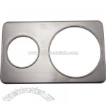 Stainless adapter plate