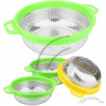 Stainless steel rice sieve