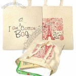 Standard Cotton Shopping Bags with Long Handles