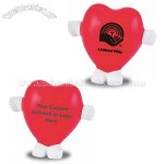 Standing Heart-Shaped Stress Ball