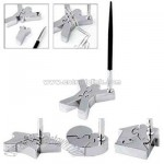 Star - Three piece magnetic puzzle desktop pen holder