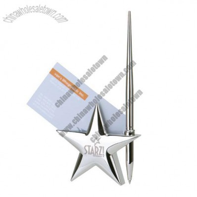 Star Business Card & Pen Holder