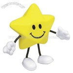 Star Figure Smiling Face Stress Reliever Balls