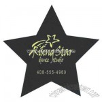Star Shape Recycled rubber coaster