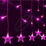 Star Shaped Colorful LED String Lights