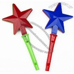 Star Shaped Hand Clapper with Whistle