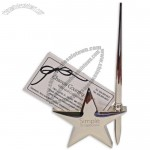 Star Shaped Pen and Card Holder