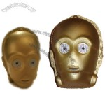 Star Wars New C3PO Droid Head Stress Ball Squeeze Toy