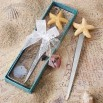 Starfish design letter opener favors