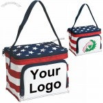 Stars & Stripes 6-pack Cooler Bag