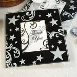 Stars Swirls Photo Coaster