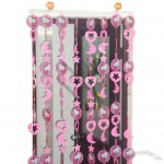 Stars and Moon Design PVC Door Curtains
