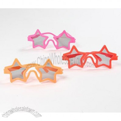Start shaped party sunglasses