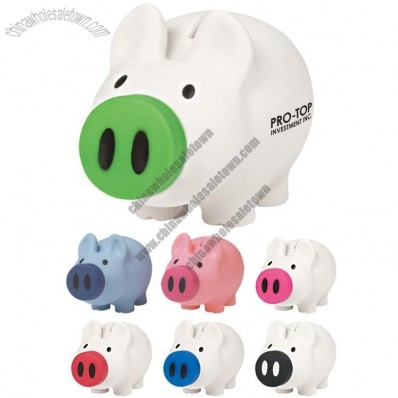 Stash Piggy Bank with Removable Nose