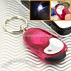 Static Electricity Eliminator with LED Light Key Chain (Red)
