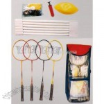 Steel Badminton Set