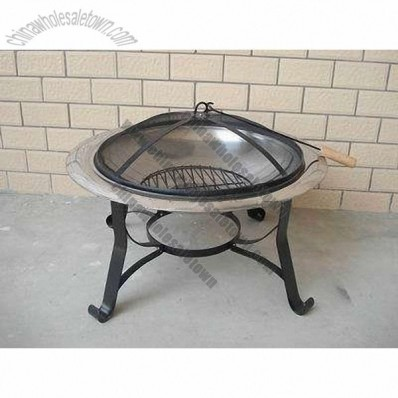 Steel Barbecue Fire Pit