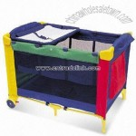 Steel Frame Baby Bed/Playpen