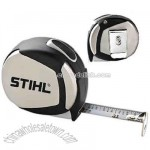 Steel case tape measure with handy pocket clip