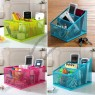 Steel wire Color Desk Organizer