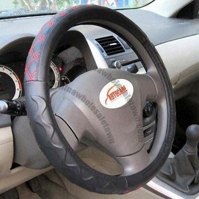 Steering Wheel Cover with Nice Appearance, Fits Most Cars