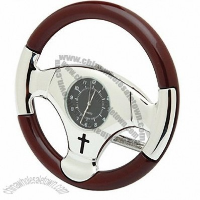 Steering Wheel Desk Clock