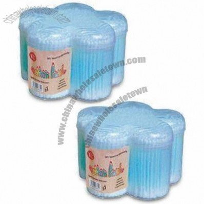 Sterile Wooden Stick Cotton Swabs for Babies