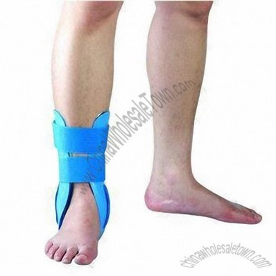 Stirrup Brace with Air and Gel Pads, Provides Support for Ankle