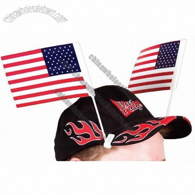 Stock American Hat Flag Singles