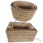 Storage Baskets, Made Of Water Plants