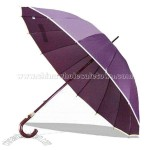 Straigth Umbrella with Wooden Shaft