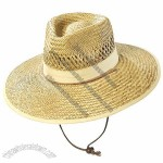 Straw Hat with Toggle