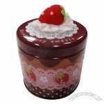 Strawberry Gift Tin Box