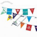 Streamer/Bunting Flags for Event and Party, with Double Sides Printing