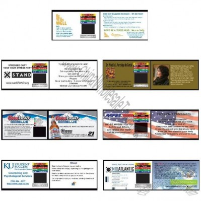 Stress Cards - Heavy Custom printed, 500 cards, heavy cardstock