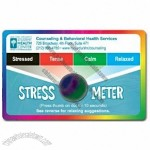 Stress Cards w/Stress Crystals - (4 Color Front & Back)