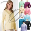 Stretch Jersey Long-Sleeve Custom Cardigan - Women's