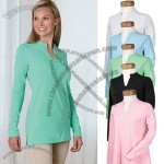 Stretch Jersey Long Sleeve Custom Tunic for Women's