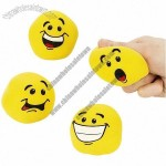Stretch and Bounce Ball - Smile Face
